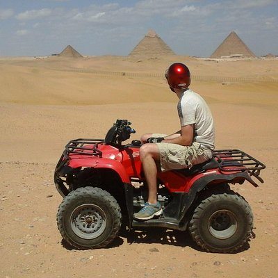 Adventure Tour around Giza Pyramids