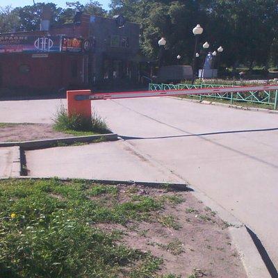 В парке Железнодорожников