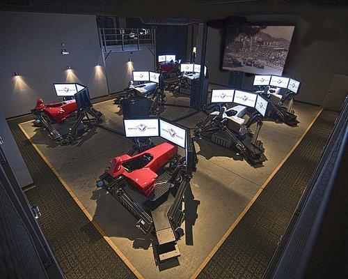 Simulator room