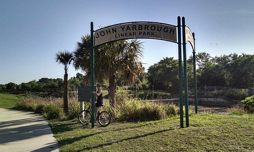 Entrance to John Yarbrough Linear Park