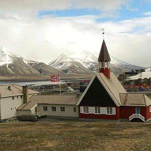 Svalbard Kirke i Longyerbyen
