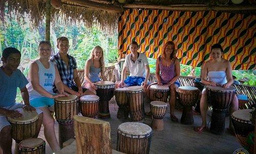 Garifuna Drumming Class