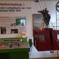 Grindelwald - Grindelwald Museum - Wetterhorn-Aufzug