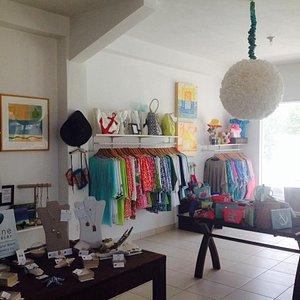 Limin' Boutique Interior