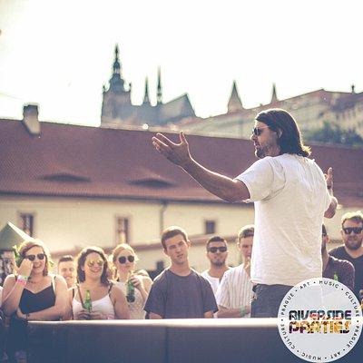 Prague Riverside Parties June 2015