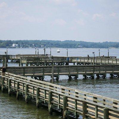 Nice long pier
