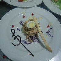 insalatina di cappone sandamianese all' aceto balsamico