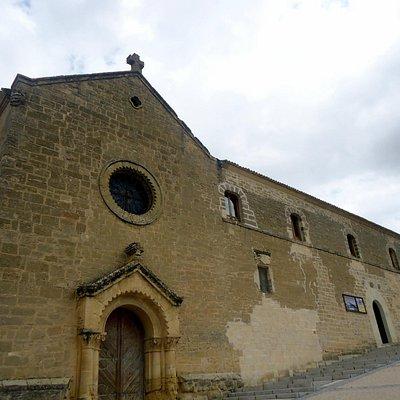 fachada del antiguo monasterio del Cristo