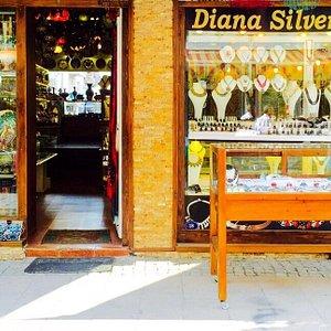 Diana silver & souvenir