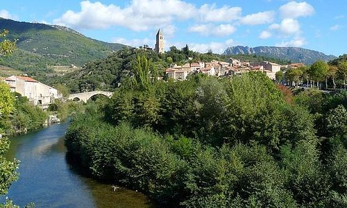 Olargues and the River Jaur