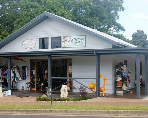 Locally owned Artistree Gallery