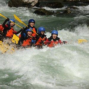 Rafting rapids
