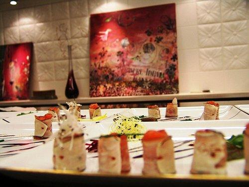Makis de saumon radis noir