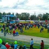 Праздничное мероприятие на стадионе