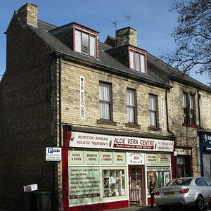 This is our lovely shop, just off park view road.