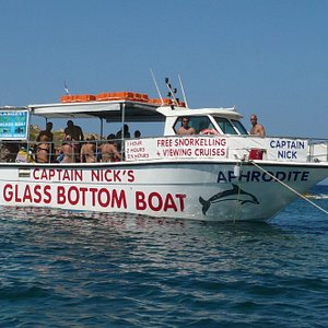Aphrodite - Captain Nick's Glass Bottom Boat