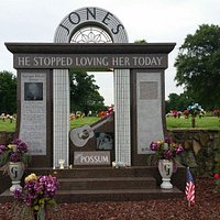 George Jones gravesite