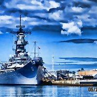 USS Missouri.Pearl Harbour