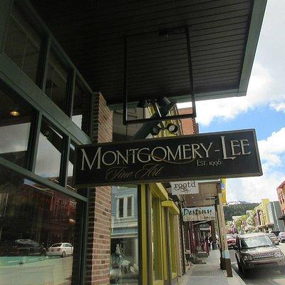 Montgomery-Lee Fine Art Gallery, Park City, Utah