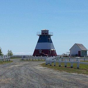 Lighthouse at Ile aux Foins Parc