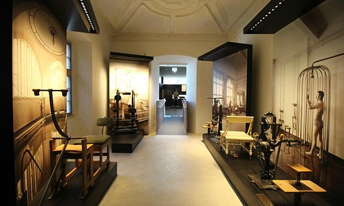 Palais Mamming Museum: a room dedicated to the history of spa in Meran/Merano