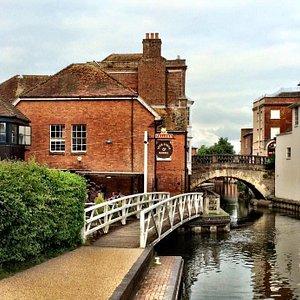 Kennet & Avon Canal at Newbury.
