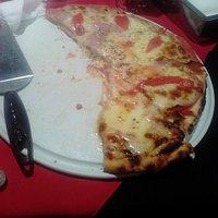 una de las pizzas!