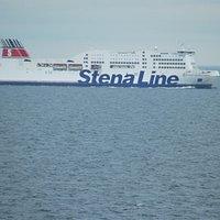 Stena Adventurer inbound for Dublin