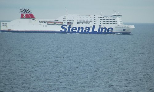 Stena Adventurer inbound for Dublin