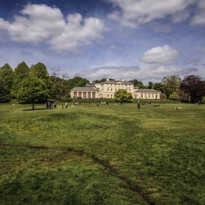 Kenwood House from the heath