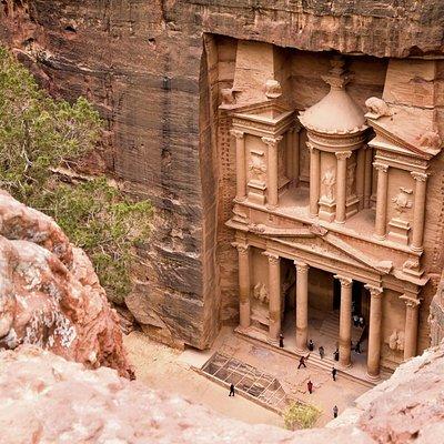 treasury in Petra