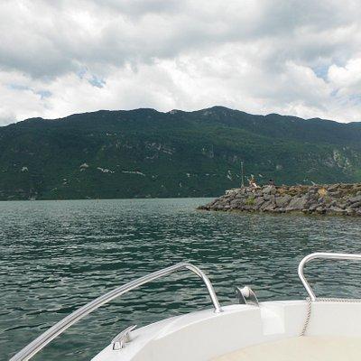 sortie du Grand Port, Lac du Bourget, Aix-Les-Bains le 20/06/2015