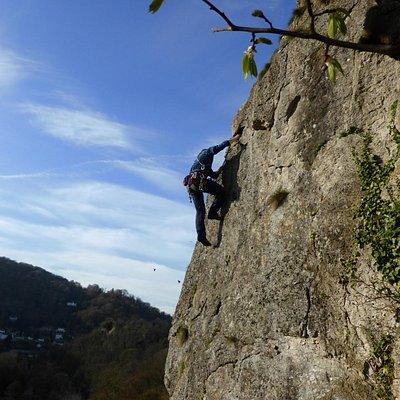 Over 50's with Rock Climbing Peak District at WildCat, Derwent Valley