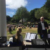 St Helens Concert Band at Vale Park