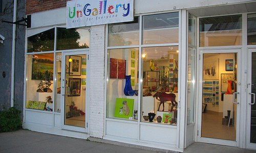 the Ungallery 129 Main st. Picton Ontario, Canada