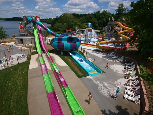 Splash Away Bay Waterpark at Quassy. Many new elements for a day of fun!
