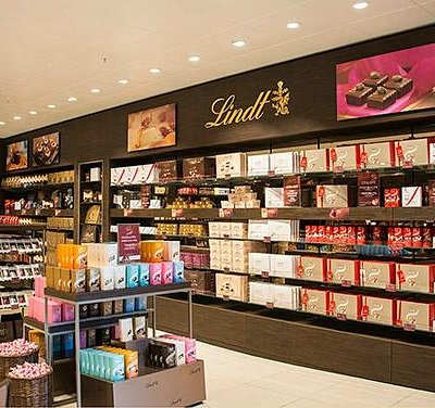 Wide range of chocolate products