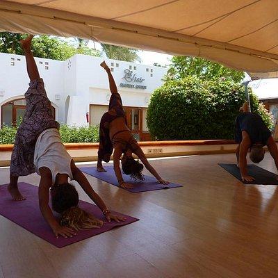 Yoga at Domina Coral Bay Elisier Spa