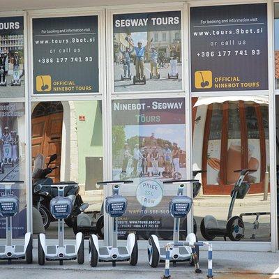 Segway, Ninebot training and Tours center Piran (Dantejeva 1, Piran)