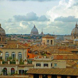 linda vista de Roma