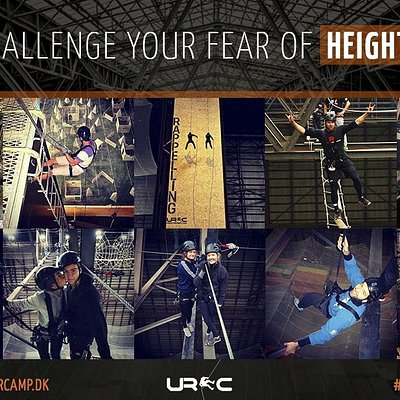 Challenge your fear of heights @urbanrangercamp