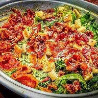 Crispy Bacon Caecser Salad