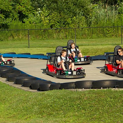 """Go Carts - Single & Dual Seaters (Min 58"""" to drive)"""