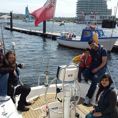 Family fun with trysail cardiff
