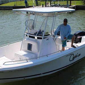 Your near shore boat and Captain Kevin