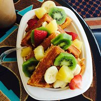 Waffle Plate and Fruit and Waffle Plate.