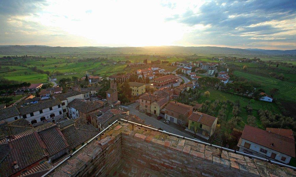 Panorama dalla cima della Torre
