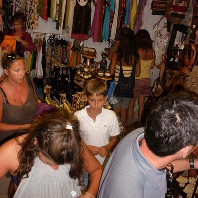 Inside of Morlacch open air shop...on the coast in Skradin