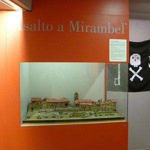 Maqueta del museo