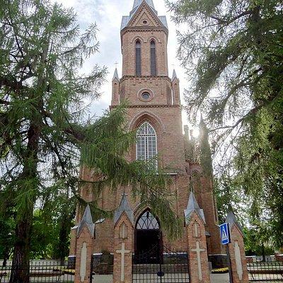 The Church of Saint Anthony of Padua in Birstonas